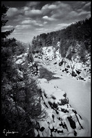 Thompson Gorge Monochrome